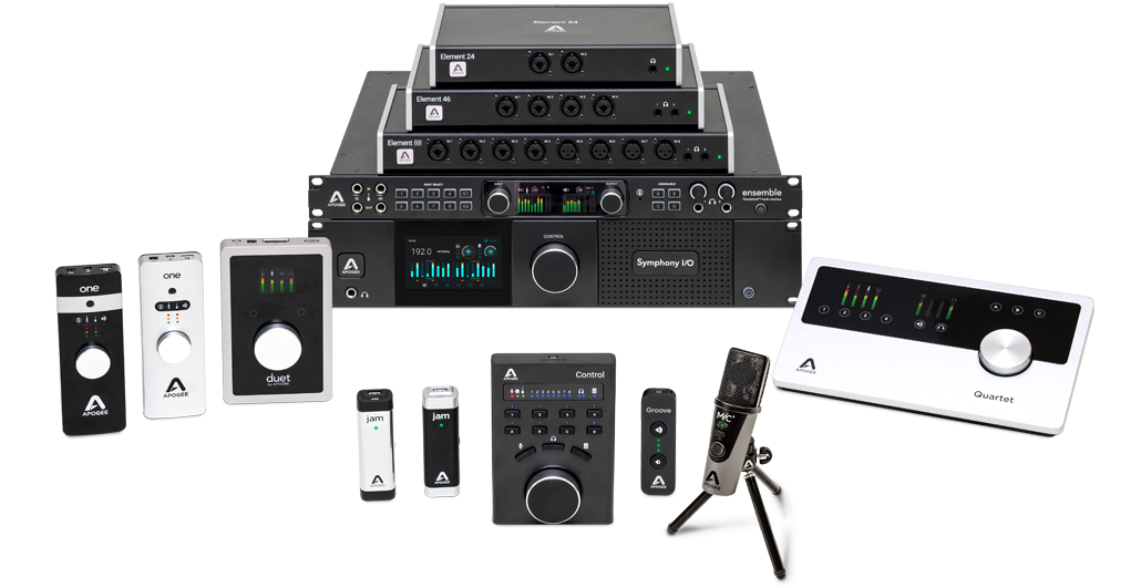 Apogee Products- Audio Interfaces for iPad, Mac and PC