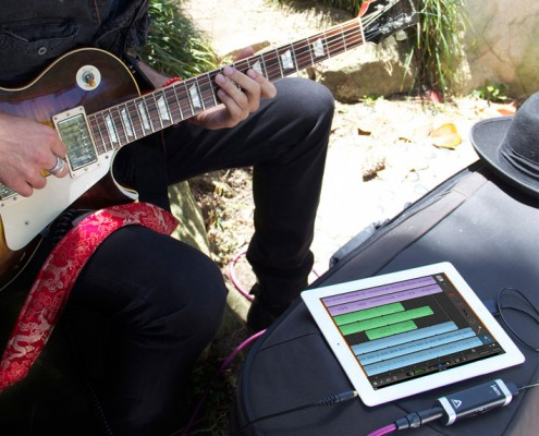 With Apogee JAM you can record professional quality audio anywhere