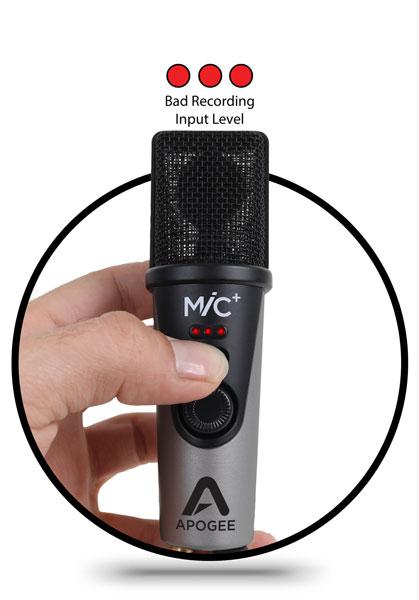MiC - Studio Quality USB Condenser Microphone - Apogee