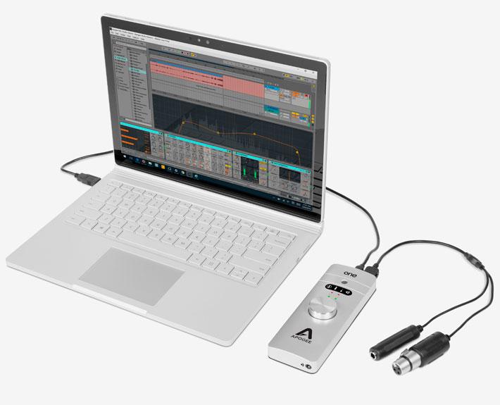 one usb audio interface microphone apogee electronics. Black Bedroom Furniture Sets. Home Design Ideas
