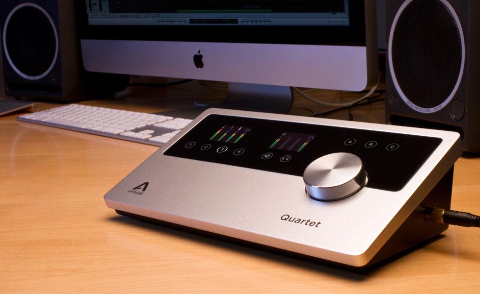 Quartet - USB Audio Interface - Apogee Electronics