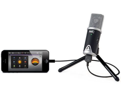 Apogee MiC with Apple iPhone