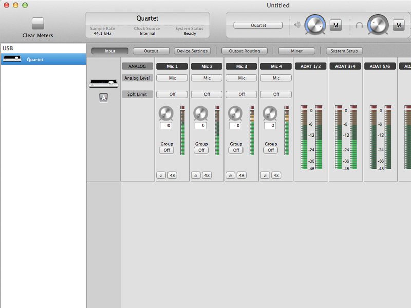 Maestro - Audio Interface Control Application - Apogee