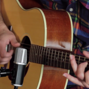 Recording acoustic guitar with Apogee MiC
