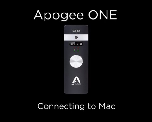 Apogee ONE - Connecting to Mac