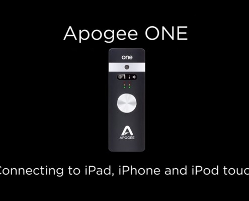 Apogee ONE - Connecting to iPad