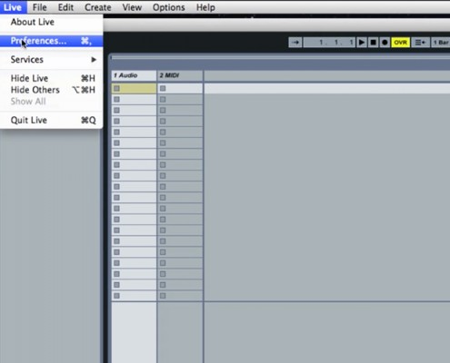 How to set up Quartet in Ableton