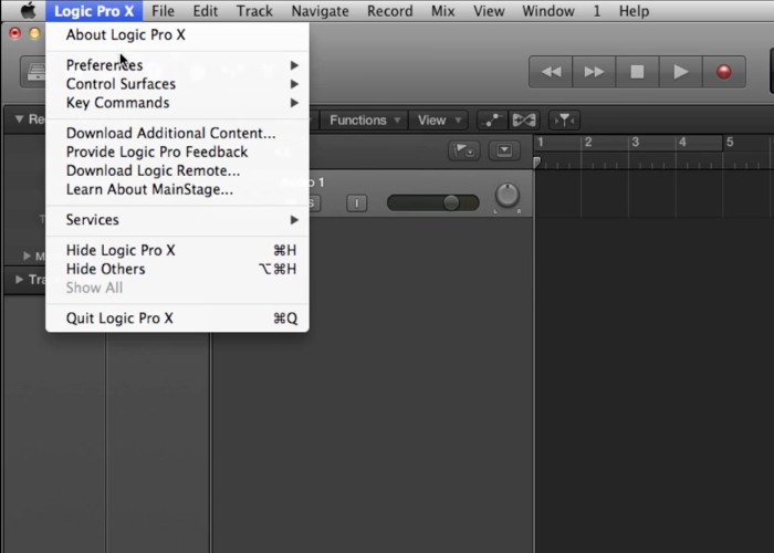 lost my logic pro 9 serial number