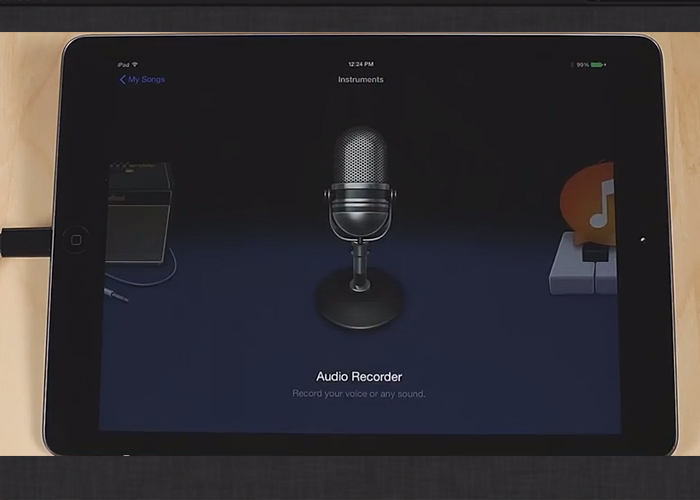Apogee ONE - Recording in Garage Band on iPad, iPhone and