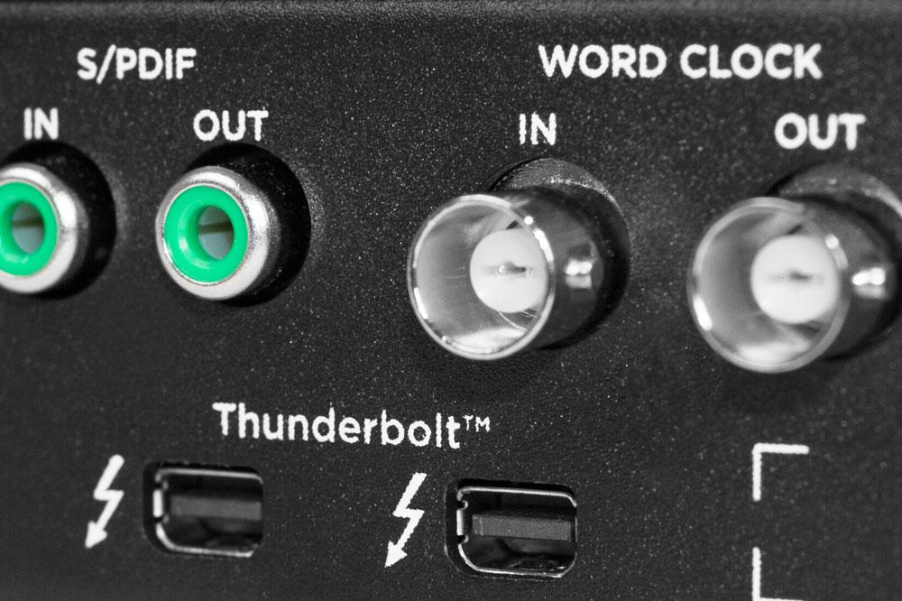 Ensemble Thunderbolt Ports