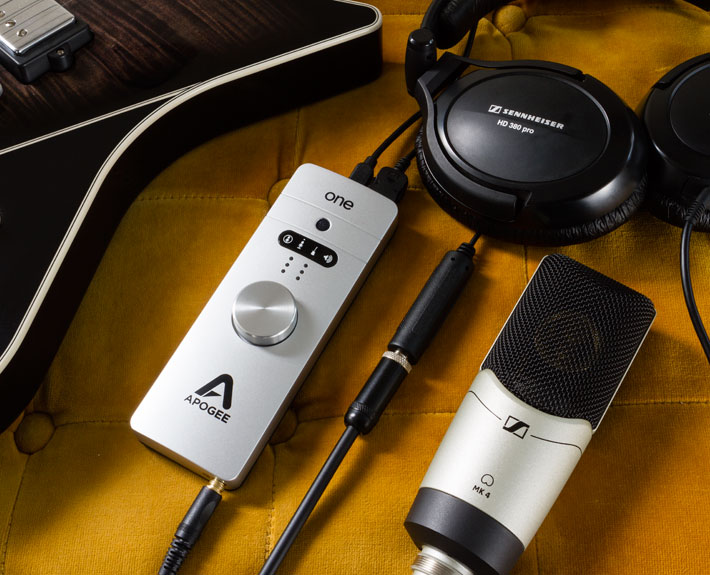 ONE for Mac - USB Audio Interface/Mic - Apogee Electronics