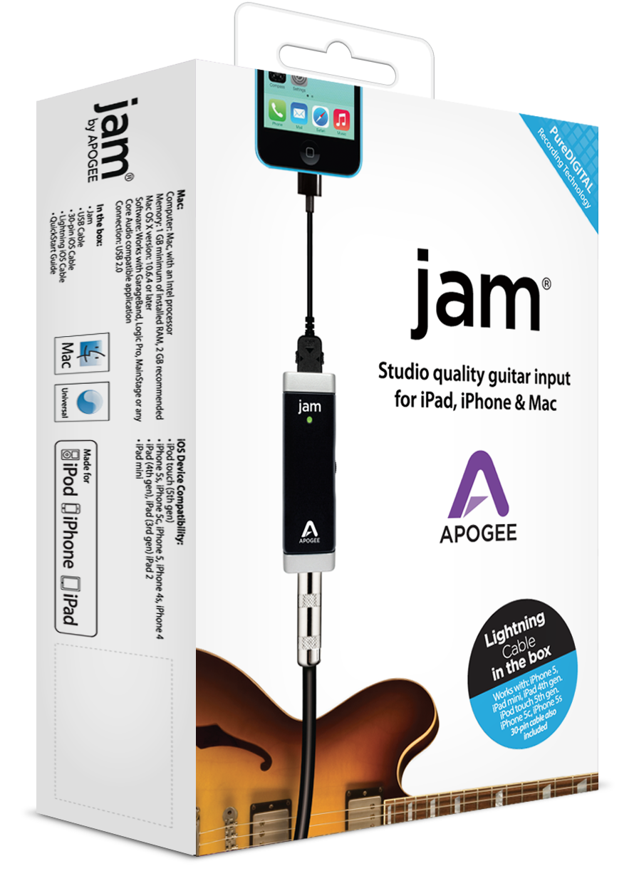 JAM for iPad, iPhone and Mac