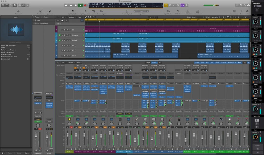 Essentials Control Strip with Logic Pro X