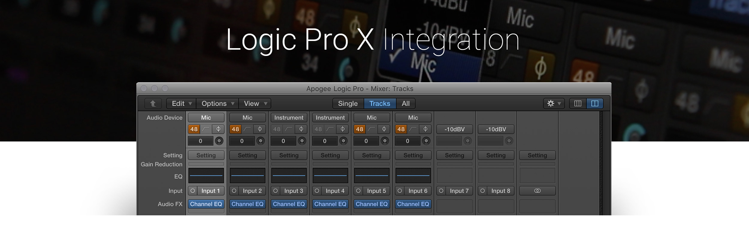 Logic Pro Integration
