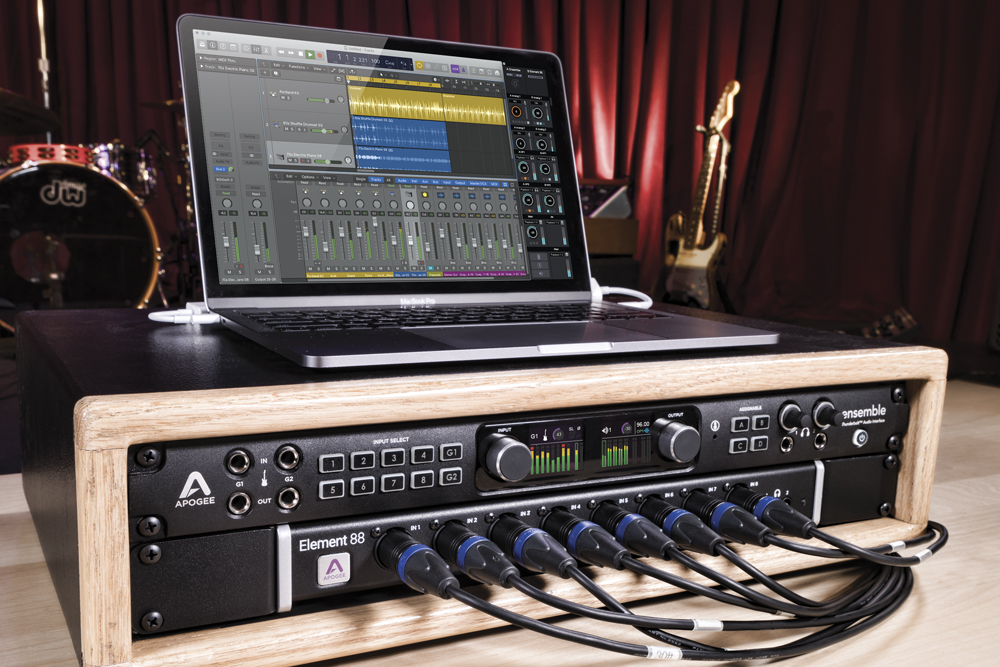 Ensemble - Thunderbolt Audio Interface - Apogee Electronics