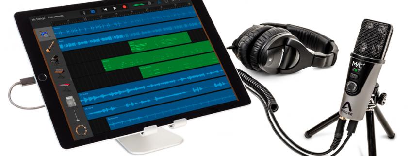 MiC Plus iPad GarageBand Headphones - Apogee Electronics