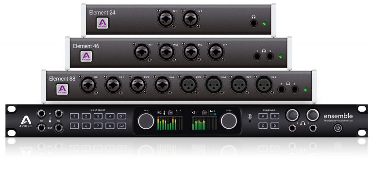 Apogee FX Rack DSP-Native Plugins  Lowest Latency  Simple
