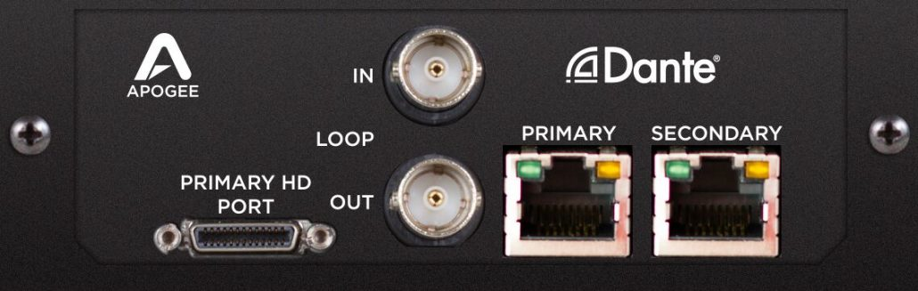 Symphony I/O Mk II Dante with Pro Tools | HD - Apogee Electronics