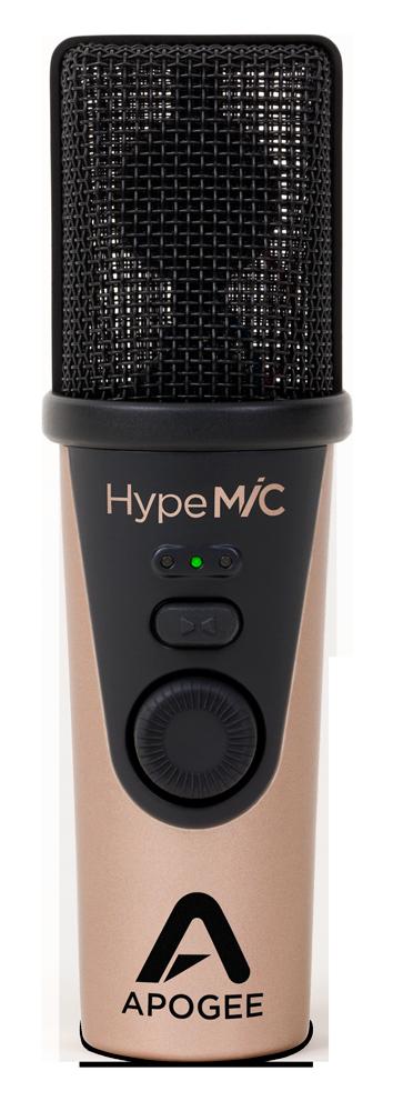 MiC - Studio Quality USB Condenser Microphone - Apogee Electronics