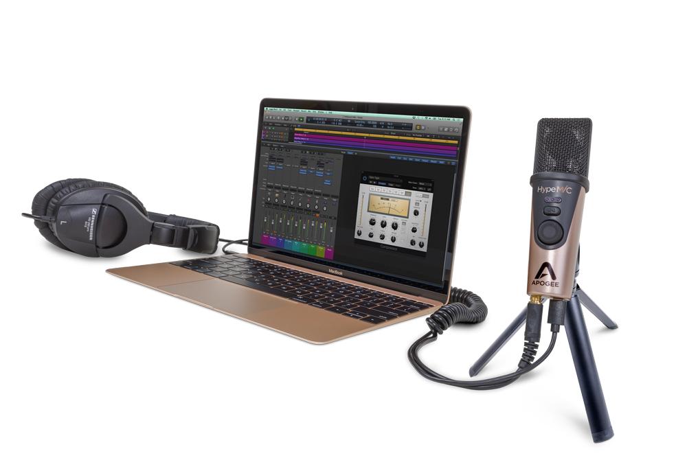 Apogee HypeMiC MacBook Sennheiser Headphones