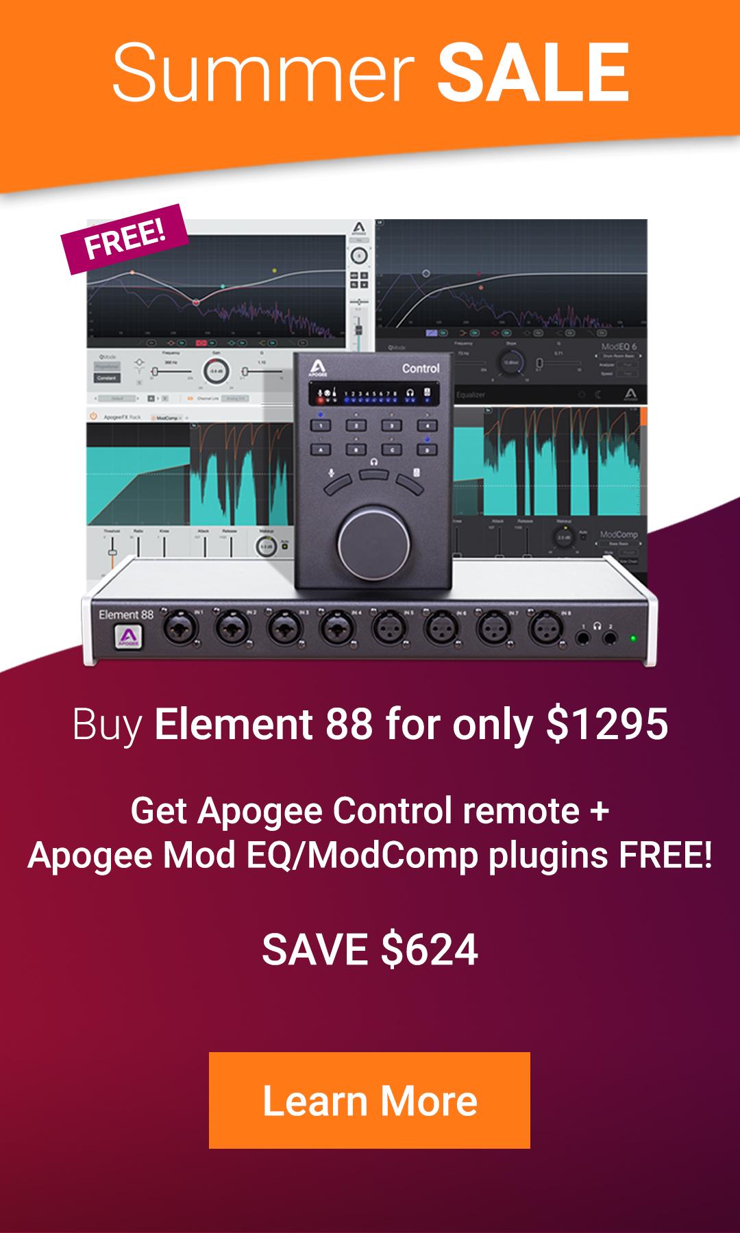 Apogee promo Element88 web banner 1080x1800