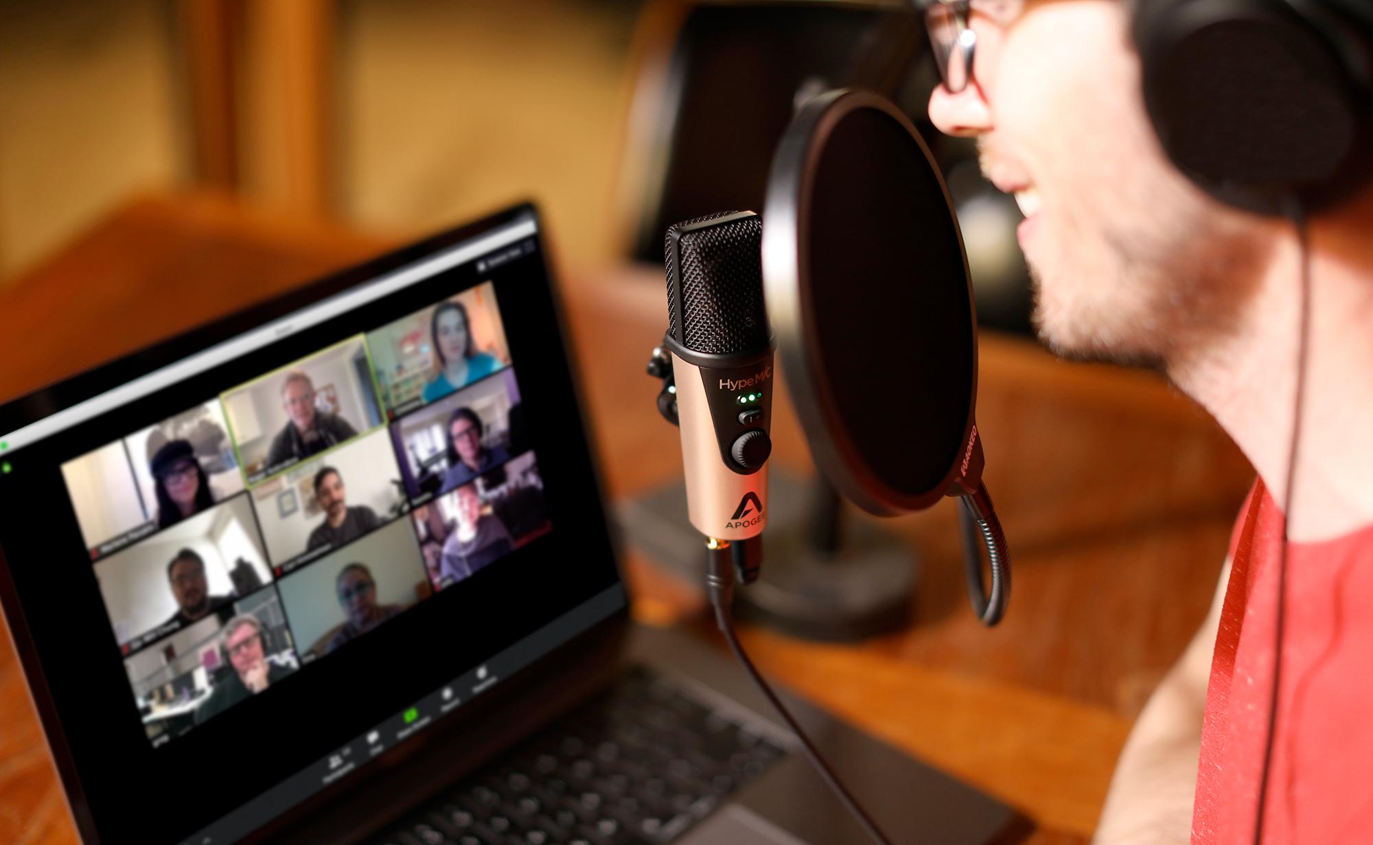 Mic Studio Quality Usb Condenser Microphone Apogee Electronics