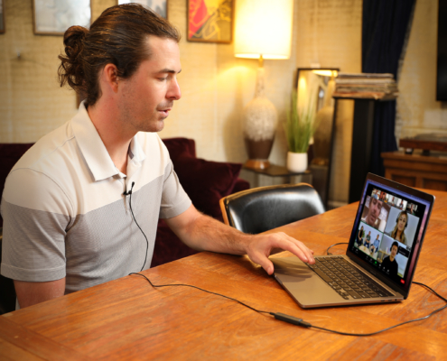 Interviews and Conferencing with Apogee ClipMic digital 2