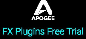 apogee logo white free trial lg
